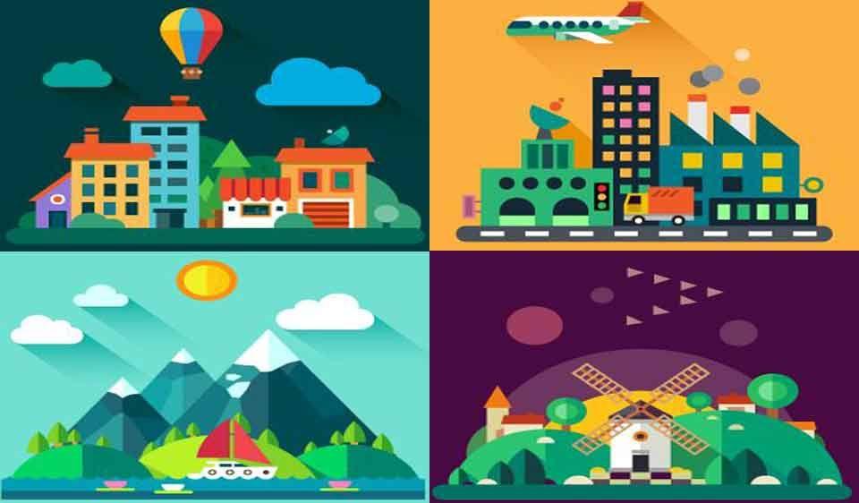 appartement ou maison; ville ou campagne