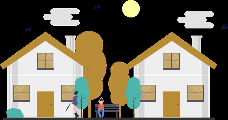 illustration appartement / maison